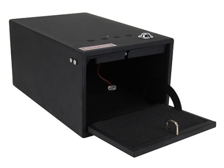 "Secure Vault Personal Electronic Front Load Safe 12"" x 8"" x 6"" Black"