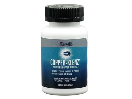 Gunslick Pro Copper Klenz Copper Bore Cleaning Solvent 4 oz Liquid