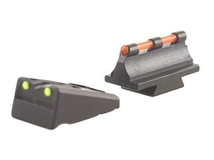 Williams Fire Sight Set Remington Muzzleloader, Pre 2003 Rifles and All Shotguns Aluminum Black Fiber Optic Green