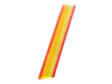 "TRUGLO Replacement Fiber Optic Rod 5.5"" x .078"" Green, Orange, Red, Ruby Red, Yellow Package of 5"