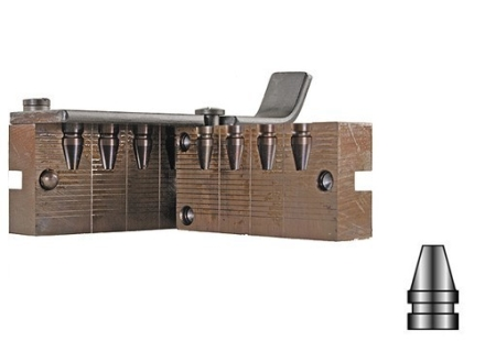 Lyman 4-Cavity Bullet Mold #356402 9mm (356 Diameter) 120 Grain Truncated Cone