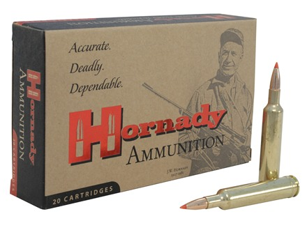 Hornady Custom Ammunition 257 Weatherby Magnum 110 Grain InterBond Boat Tail Box of 20
