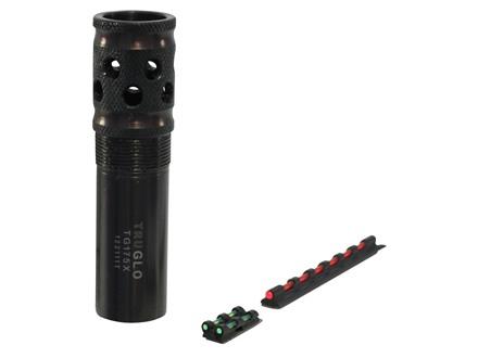 "TRUGLO Gobble Stopper Xtreme Turkey Choke Tube and Fiber Optic Sight Combo Beretta, Benelli Mobilchoke 12 Gauge .665"" Constriction"