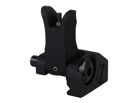 Troy Industries Front Flip-Up Battle Sight M4-Style AR-15 Handguard Height Aluminum Black