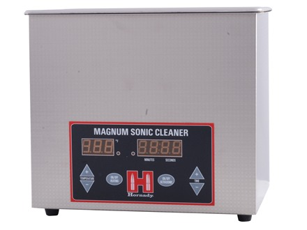 Hornady Lock-N-Load Magnum Sonic Cleaner UltraSonic Case Cleaner Stainless Steel 220 Volt