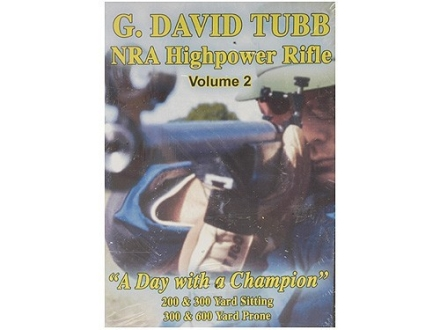 "Gun Video ""NRA Highpower Rifle Competition: Volume 2 with G. David Tubb"" DVD"