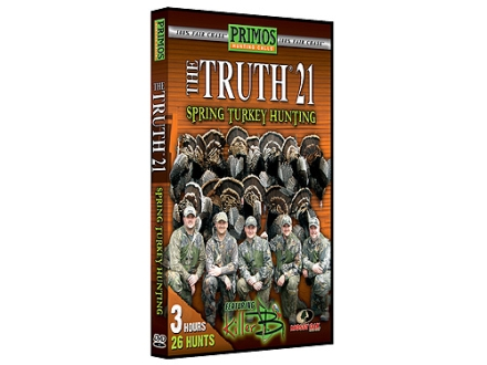 "Primos ""The Truth 21 Spring Turkey Hunting"" DVD"
