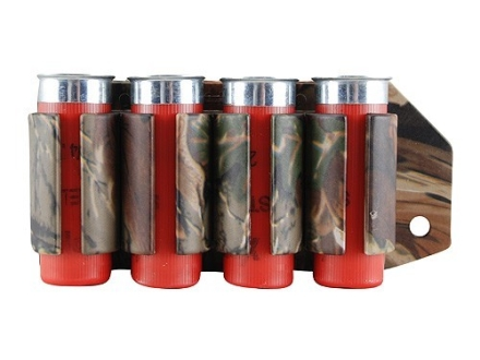 TacStar SideSaddle Shotshell Ammunition Carrier 12 Gauge 4-Round Remington 870, 1100, 11-87 Advantage Camo