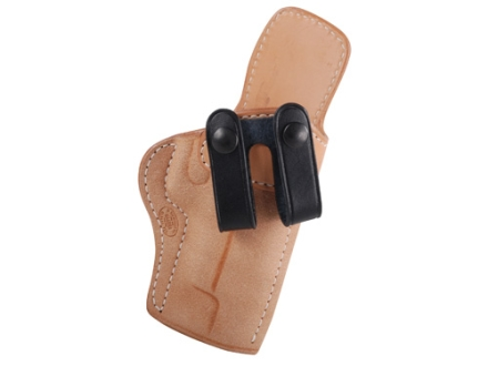 El Paso Saddlery Summer Cruiser Inside the Waistband Holster Right Hand Sig P220, P226 Leather Natural and Black