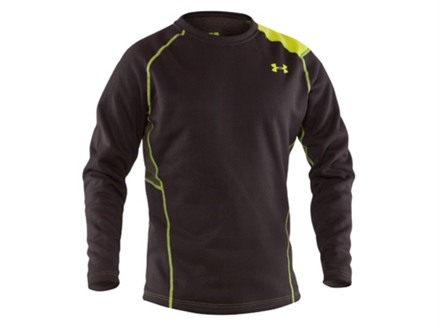 Under Armour Men's Treestand Base Layer Crew Shirt Long Sleeve Polyester