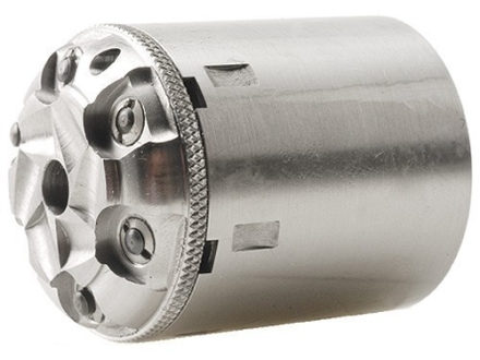 Howell's Old West Conversions Drop-In Conversion Cylinder 44 Caliber Pietta 1858 Remington Steel Frame Black Powder Revolver 45 Colt (Long Colt) 6-Round Stainless Steel