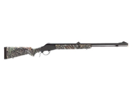 "Knight Revolution Black Powder Rifle 50 Caliber # 209 Primer Mossy Oak Break-Up Camo Synthetic Stock 1 in 28"" Twist 27"" Barrel Blue"