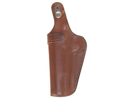 Bianchi 3S Pistol Pocket Inside the Waistband Holster Right Hand 1911 Government, Browning Hi-Power Leather Tan
