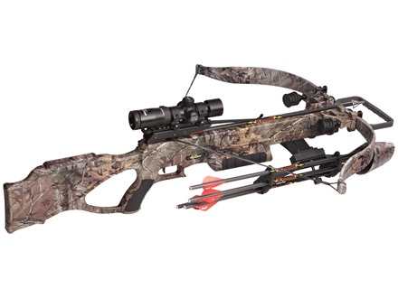 Excalibur Matrix 380 CRT Crossbow Package with Tact-Zone Illuminated Scope Realtree Xtra Camo