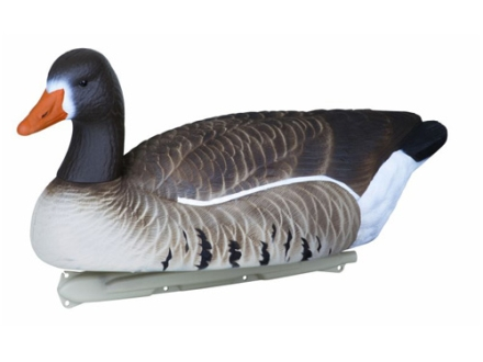 Flambeau Storm Front Weighted Keel White Front Goose Decoys Pack of 4