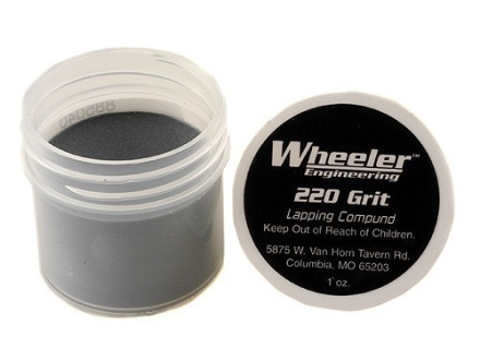 Wheeler Engineering Lapping Compound 220 Grit (Cutting) 1 oz
