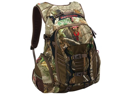 Badlands Stealth Backpack Nylon Ripstop Realtree APX Camo