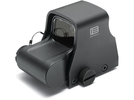 EOTech XPS2-0 Holographic Weapon Sight 65 MOA Circle with 1 MOA Dot Reticle Matte CR123 Battery