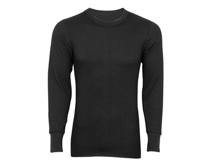 Indera Men's Hydropur Dual Face Fleece Performance Thermal Long Sleeve Shirt