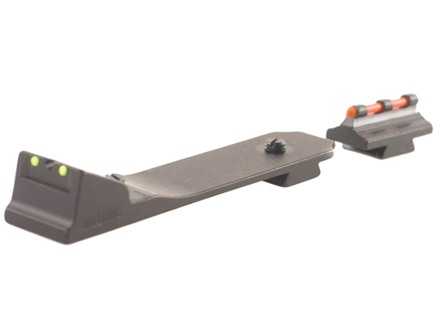 Williams Fire Sight Set Dovetail Marlin and Winchester with Front Ramp, Rear Dovetail Fiber Optic Green