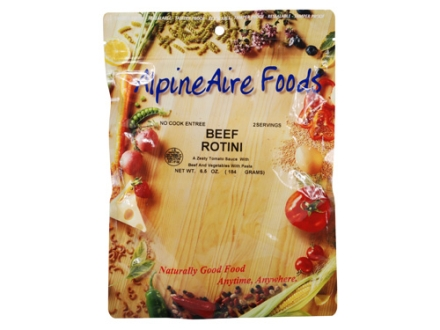 AlpineAire Beef Rotini Freeze Dried Meal 6.5 oz