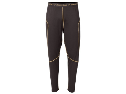 """Scent-Lok Men's BaseSlayers Midweight Pants Polyester Bison 2XL 44-46 Waist 32"""" Inseam"""