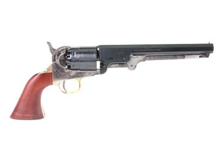 Pietta 1851 Navy Steel Frame Black Powder Revolver Blue Barrel