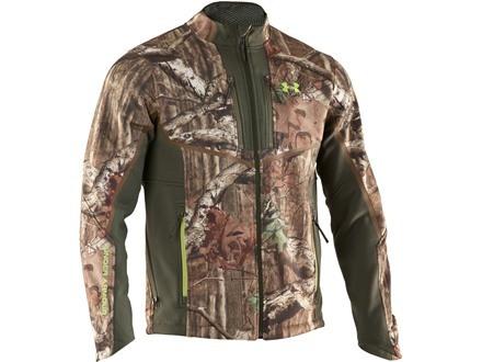 Under Armour Men's Ridge Reaper ColdGear Infrared Jacket Polyester Mossy Oak Break-Up Infinity Camo Large 42-44