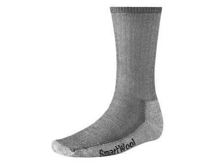 SmartWool Men's Hiking Midweight Crew Socks Wool Blend Gray XL 12-14-1/2