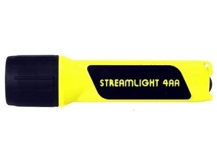 Streamlight 4AA Propolymer Flashlight White LED Polymer Yellow