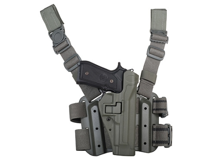 BlackHawk Tactical Serpa Thigh Holster Beretta 92, 96 Polymer