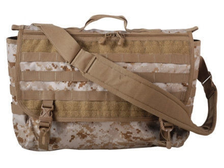 Spec-Ops T.H.E. Messenger Bag XL Nylon Desert Digital
