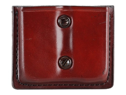 Don Hume Double Magazine Pouch 1911 Magazines Leather Brown