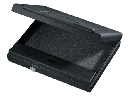 Stack-On Handgun Vault Pistol Security Case with Electronic Lock Steel Black