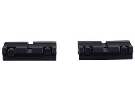 """B-Square 3/8"""" Aluminum Dovetail to Weaver-Style Adapter Matte"""