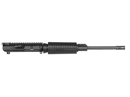 "DPMS LR-308 Oracle A3 Flat-Top Upper Assembly 308 Winchester 1 in 10"" Twist 16"" Heavy Contour Barrel Chrome Moly Matte with GlacierGuard Handguard, Single Rail Gas Block, Flash Hider"