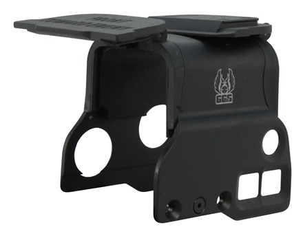 GG&G FTE Hood and Flip-Up Lens Covers Combo EOTech EXPS3 Black