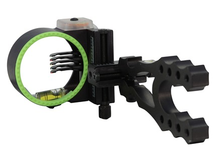 "Montana Black Gold Widow Maker 5-Pin Bow Sight .019"" Pin Diameter Right Hand Aluminum Black"