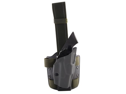 Safariland 6354 ALS Tactical Drop Leg Holster Right Hand Glock 19, 23, 32 Polymer Olive Drab Green