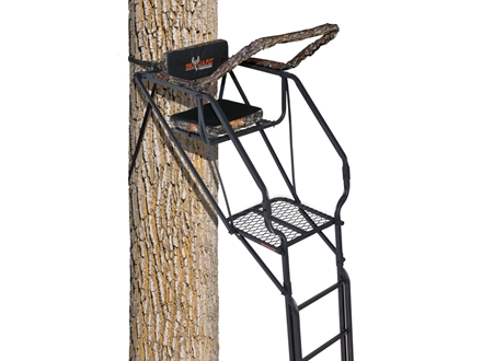Big Game The Skybox Deluxe Single Ladder Treestand Steel Black