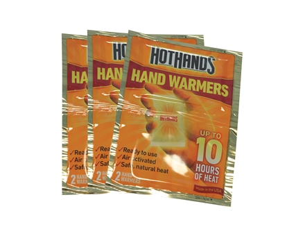 HeatMax HotHands 2 Hand Warmer Pack of 6