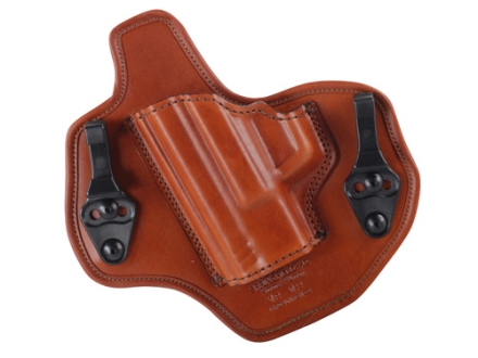Bianchi Allusion Series 135 Suppression Tuckable Inside the Waistband Holster Left Hand Springfield XDM Leather Tan
