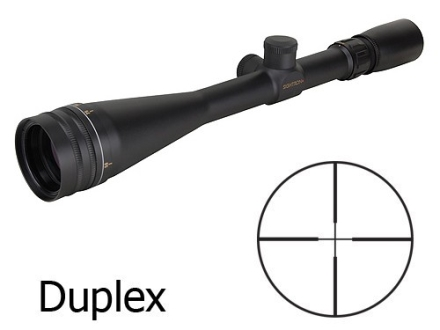 Sightron SII Rifle Scope 6.5-20x 42mm Adjustable Objective Duplex Reticle Matte