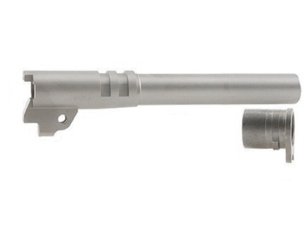 "STI Nowlin-Wilson Ramped Barrel with Bushing 1911 Government 40 S&W 5"" Stainless Steel"
