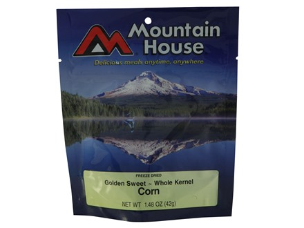 Mountain House Corn Freeze Dried Food 2 Servings