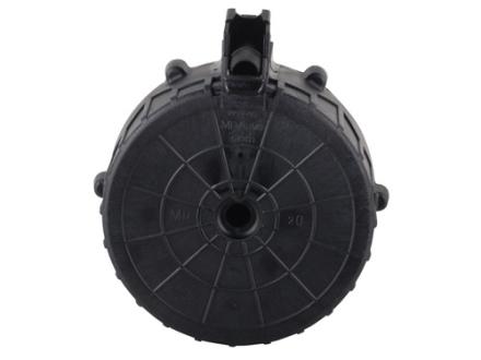 MD Arms Magazine Saiga 12 Gauge 20-Round Drum Polymer Black