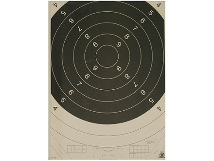 NRA Official International High Power Rifle Targets Repair Center C-1C 300 Meter Paper Package of 100