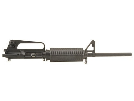 "DPMS AR-15 A2 Upper Assembly 5.56x45mm NATO 1 in 9"" Twist 16"" Barrel Chrome Moly Matte with GlacierGuard Handguard, A2 Front Sight"