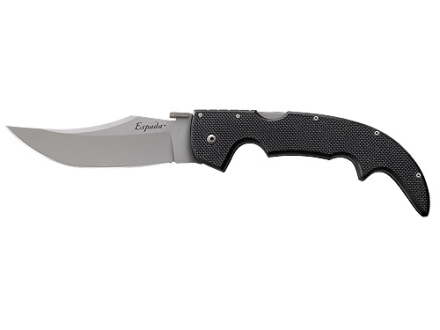 "Cold Steel G-10 Espada Large Folding Knife 5.5"" Clip Point AUS 8A Stainless Steel Blade G-10 Handle Black"