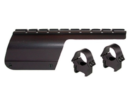 "B-Square Shotgun Saddle Mount with 1"" Rings Benelli Nova 12 Gauge Matte"